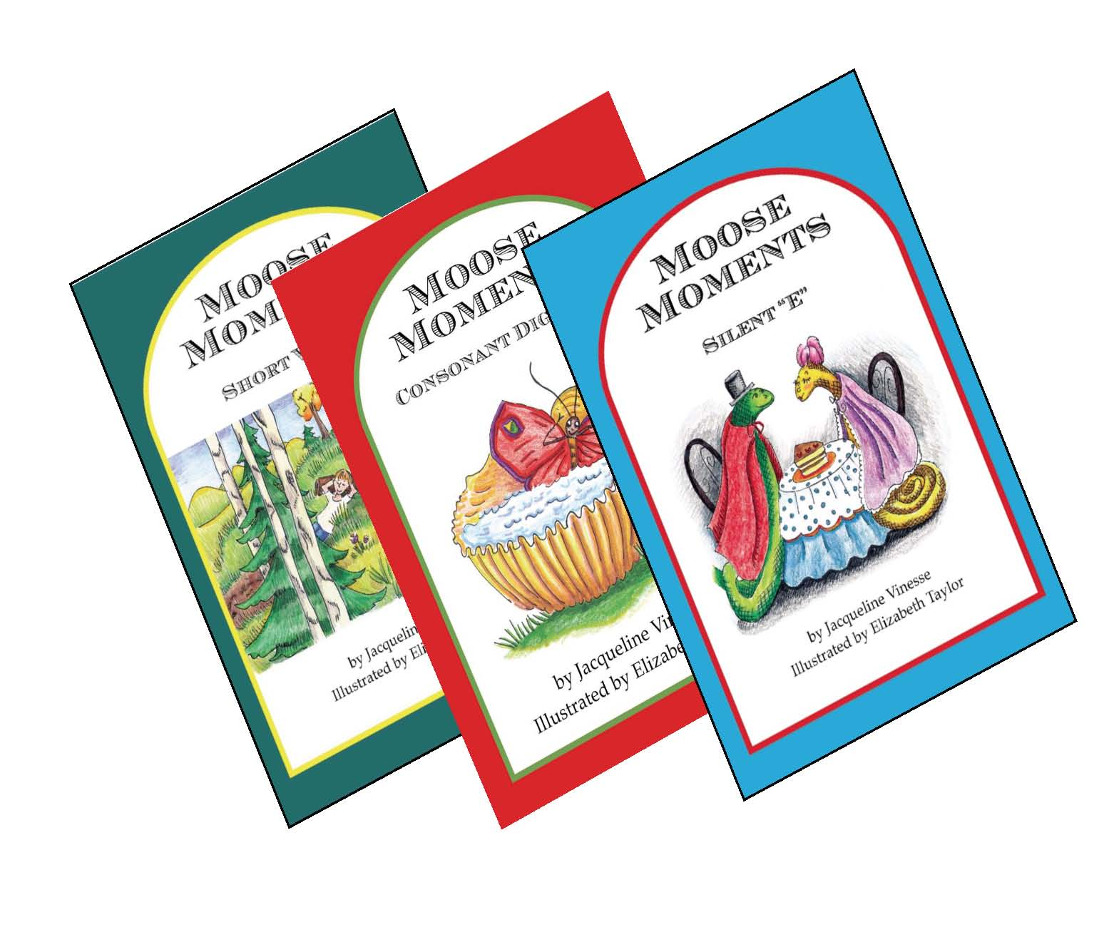 Set of 3 Moose Moments Books (MMSV, MMDI, MMSE)