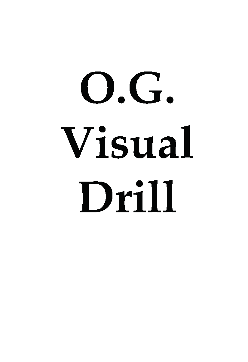 OGDDKW O.G. Drill Deck:Key Words