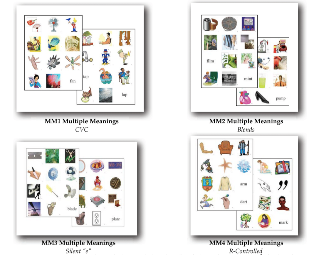 MM124 Multiple Meaning Set (MM1-MM4) - Click Image to Close