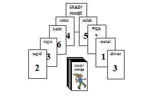 Crazy Moose VC.V Deck (matching short vowel...