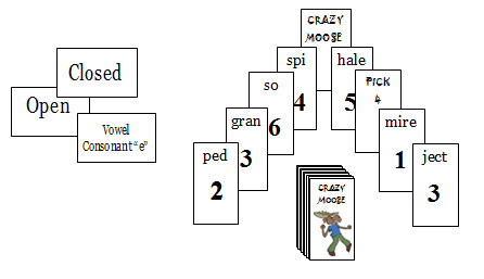CM18 Crazy Moose: Cle + Closed, Open, R-Controlled, & Vowel Combinations