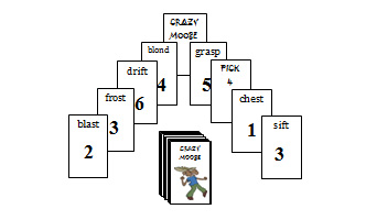 Crazy Moose CCVCC Deck (short vowel matching)