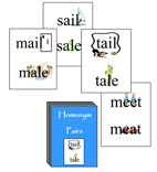 Homonym Pair Cards